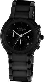 Jacques Lemans 1-1580D Ceramic Analog Watch