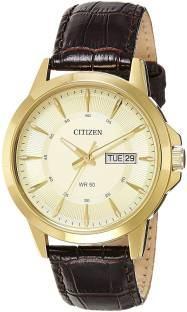 Citizen BF2012-08P Analog Gold Dial Men's Watch