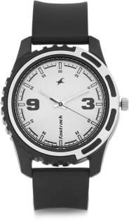 Fastrack 3114PP01 Casual Analog White Dial Men's Watch