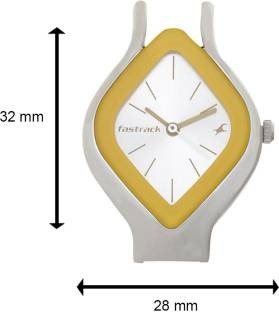 Fastrack 6109SL01 Analog White Dial Women's Watch