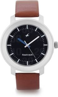 Fastrack 3121SL01 Casual Analog Black Dial Men's Watch