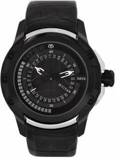 Titan 1540KL03 Htse Analog Black Dial Men's Watch (1540KL03)