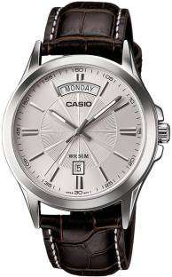 Casio Enticer MTP-1381L-7AVDF (A845) Analog Silver Dial Men's Watch