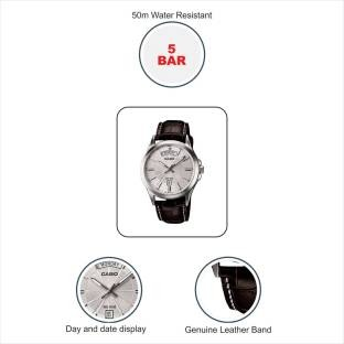 Casio Enticer MTP-1381L-7AVDF (A845) Analog Silver Dial Men's Watch (MTP-1381L-7AVDF (A845))