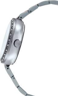 Casio Sheen SHE-3043SG-7AUDR (SX161) Analog Silver Dial Women's Watch (SHE-3043SG-7AUDR (SX161))