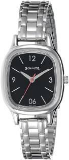 Sonata 8060SM02 Analog Black Dial Women's Watch