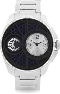 Fastrack NG3133SM01 Analogue Guys Metal Balck Dial Men's Watch