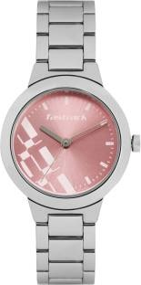 Fastrack 6150SM04 Analog Pink Dial Women's Watch
