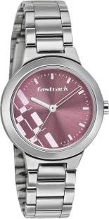 Fastrack 6150SM04 Analog Pink Dial Women's Watch (6150SM04)