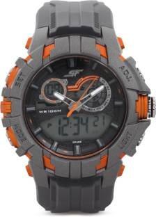 Sonata 77045PP03J Analog-Digital Watch (77045PP03J)