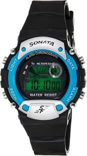 Sonata NT7982PP04J Digital Grey Dial Men's Watch (NT7982PP04J)