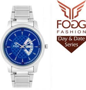 Fogg 2018-BL Analog Blue Dial Men's Watch (2018-BL)