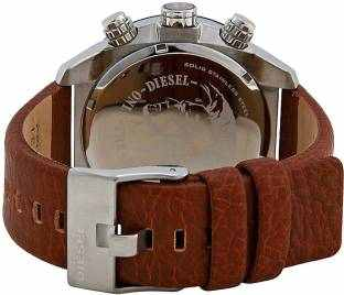 Diesel DZ4296 Overflow luminescent hands Chronograph Black Dial Men's Watch