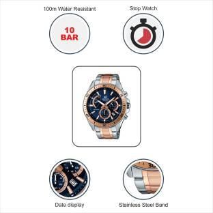 Casio Edifice EFR-552SG-2AVUDF (EX277) Analog Blue Dial Men's Watch