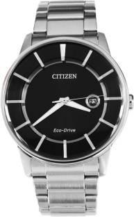 Citizen Eco-Drive AW1260-50E Analog Black Dial Men's Watch (AW1260-50E)
