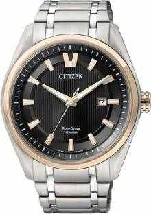 Citizen AW1245-53E Analog Black Dial Men's Watch