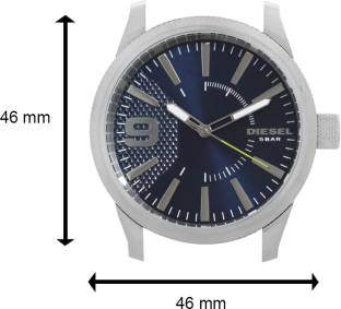Diesel DZ1763I Rasp Analog Blue Dial Men's Watch (DZ1763I)