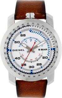 Diesel DZ1749I Rig Light Brown & White Analog Men's Watch