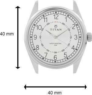 Titan Neo 1729SM01 Analog Silver Dial Men's Watch (1729SM01)