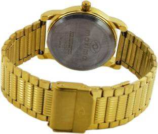 Maxima 28407CMLY Analog Champagne Dial Women's Watch (28407CMLY)