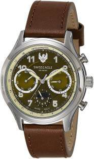 Swiss Eagle SE-9092LS-SS-07 Analog Watch