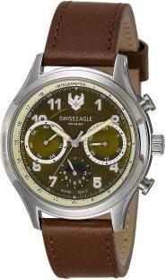 Swiss Eagle SE-9092LS-SS-07 Analog Watch (SE-9092LS-SS-07)