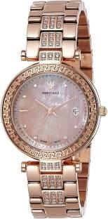 Swiss Eagle SE-9094B-RG-08 Analog Watch (SE-9094B-RG-08)