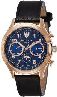 Swiss Eagle SE-9092LS-RG-02 Analog Watch
