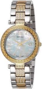 Swiss Eagle SE-9094B-TTYG-03 Analog Watch (SE-9094B-TTYG-03)