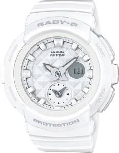 Casio Baby-G BGA-195-7ADR (BX076) Analog Digital White Dial Women's Watch (BGA-195-7ADR (BX076))