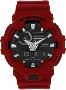 Casio G-Shock GA-700-4ADR (G716) Analog-Digital Black Dial Men's Watch