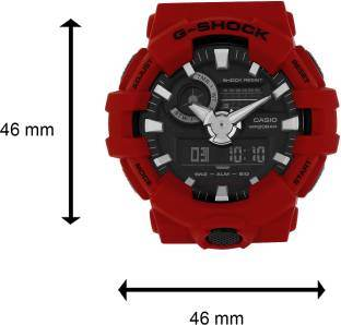 Casio G-Shock GA-700-4ADR (G716) Analog-Digital Black Dial Men's Watch (GA-700-4ADR (G716))