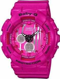 Casio Baby-G BA-120SP-4ADR (B175) Analog-Digital Pink Dial Women's Watch