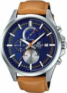 Casio Edifice EFV-520L-2AVUDF (EX350) Analog Blue Dial Men's Watch (EFV-520L-2AVUDF (EX350))