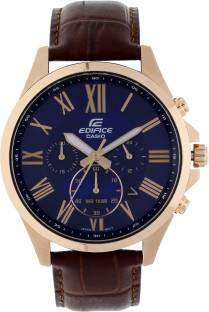 Casio Edifice EFV-500GL-2AVUDF (EX347) Analog Blue Dial Men's Watch (EFV-500GL-2AVUDF (EX347))