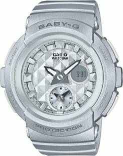 Casio Baby-G BGA-195-8ADR (BX077) Analog Digital Grey Dial Women's Watch