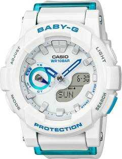 Casio Baby-G BGA-185FS-7ADR (BX074) Analog-Digital Blue Dial Women's Watch