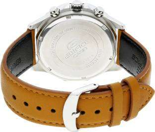 Casio Edifice EX339 Blue Chronograph Dial Men's Watch