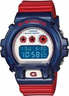 Casio G-Shock G672 Men's Red Chronograph Digital Men's Watch (G672)