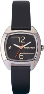 Fastrack 6162SL01 Bare Basic Analog Women's Watch (6162SL01)