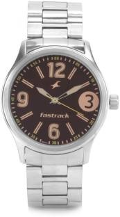 Fastrack 3001SM07 Analog Brown Dial Men's Watch