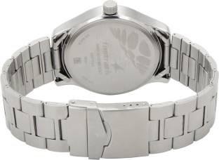 Fastrack 3001SM06 Bare Basics Analog Blue Dial Men's Watch (3001SM06)