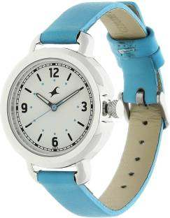 Fastrack 6123SL02 Cream Coloured Analogue Women's Watch (6123SL02)
