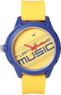Fastrack 38019PP08J Analog Yellow Dial Men's Watch