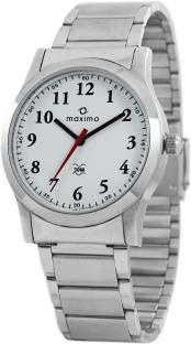 Maxima 42840CMGI Analog White Dial Men's Watch (42840CMGI)