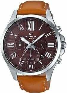 Casio Edifice EFV-500L-5AVUDF (EX320) Analog Brown Dial Men's Watch
