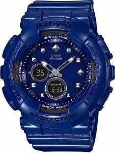Casio Baby-G BA-125-2ADR (BX069) Analog-Digital Blue Dial Women's Watch (BA-125-2ADR (BX069))