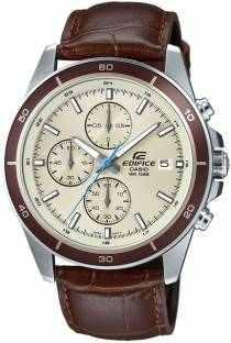 Casio EFR-526L-7BVUDF (EX303) Chronograph Beige Dial Men's Watch