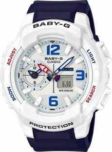Casio Baby-G BGA-230SC-7BDR (B186) Analog Digital White Dial Women's Watch (BGA-230SC-7BDR (B186))