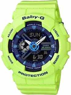 2559c34c322e Casio Baby-G BA-110PP-3ADR (B179) Watch Online Buy at lowest Price in India  (Analog Digital Blue Dial Women's Watch) Offers & Coupons | CKS-312-003376